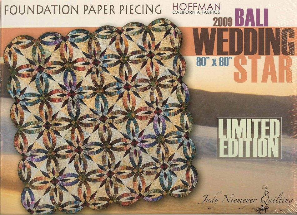 BALI WEDDING STAR FOUNDATION PAPER PIECING QUILT PATTERN - JUDY NIEMEYER eBay